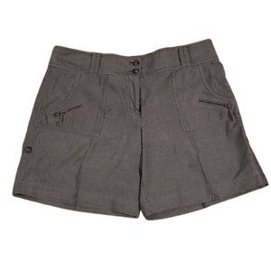 [Kenneth Cole] Gray Cargo Shorts - Size 12